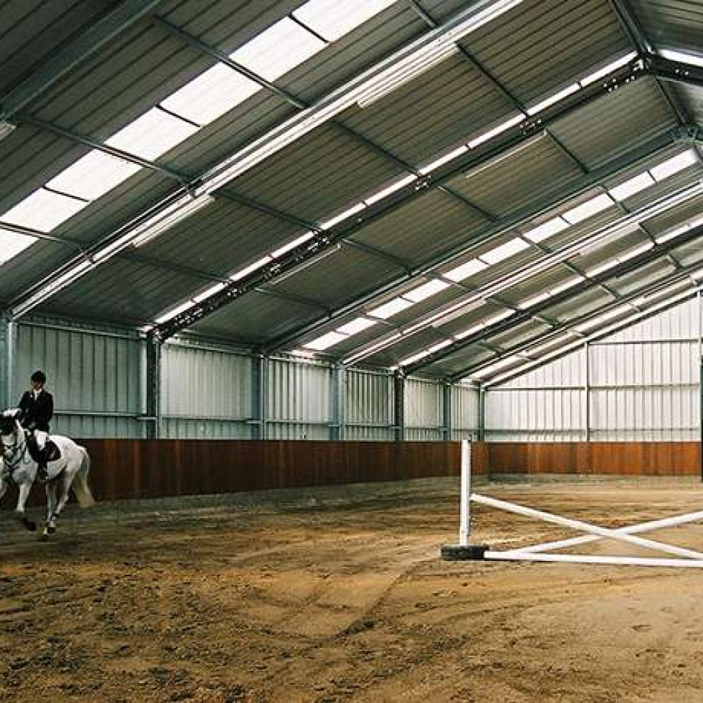 Horse Arenas Sport Amp Leisure Steel Structures Frisomat Be