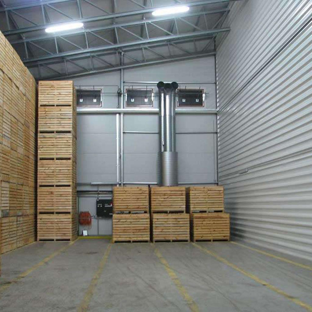 industrial potato storage building halls metal