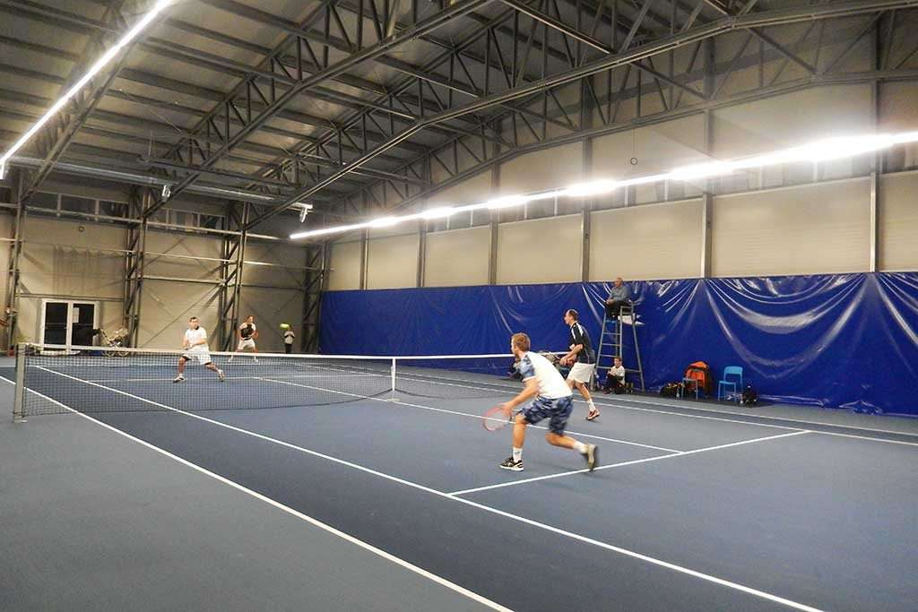 sports buildings tennis court steel industrial halls PEB