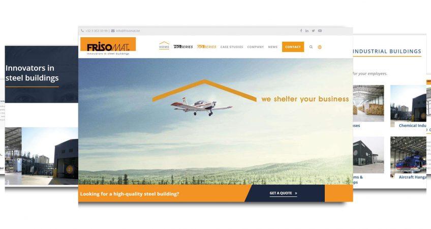 website Frisomat we shelter your business